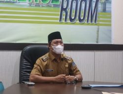 Wakil Bupati Tanjabbarat ikuti Meeting melalui Zoom