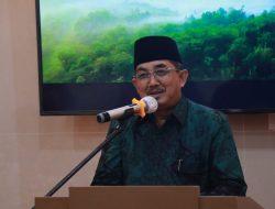 Bupati Tanjabbarat Drs KH Anwar Sadat M Ag Silaturahmi ke Indragiri Hilir