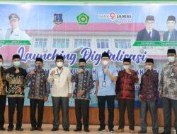 Bupati Drs H Anwar Sadat M Ag Hadiri Launching Digitalisasi Layanan Informasi Haji dan Umrah (LIDIA)