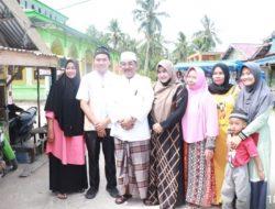 Penuhi Undangan Kades, Bupati Drs H Anwar Sadat M Ag, Zikir dan Do'a Bersama di Mesjid Jam'Al Hidayah
