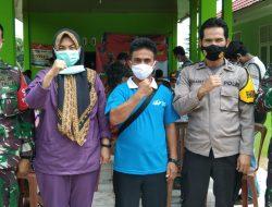 "Kodim 0412 Lampung Utara Mengelar ""Vaksinasi Gratis Satu Juta Orang"""