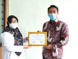 RS Annisa Bogor Meraih Penghargaan Sebagai Fasyankes Yang Tidak Menggunakan Alat Kesehatan Bermerkuri Tahun 2021