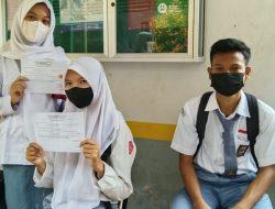 SMAN 4 Kotabumi Lampung Utara Lakukan Vaksinasi Tahap Pertama