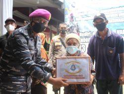 Korps Marinir TNI AL, Brigif 4 Mar/BS Bersinergi dengan Polres Pringsewu Laksanakan Serbuan Vaksinasi Gratis untuk Kabupaten Pringsewu