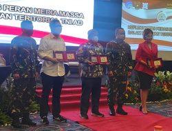 HUMAS KOTA BEKASI HADIRI SARASEHAN TNI AD DENGAN MEDIA MASSA